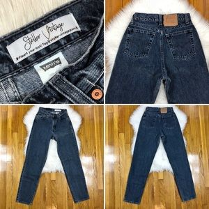 Levi's Jeans - 🌸Vtg 560 Midnight Blue Relaxed Levis 25🌸